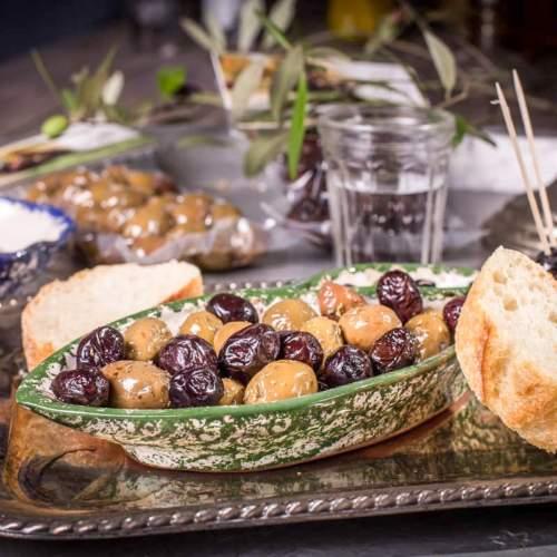 Oliven & Olivenpaste