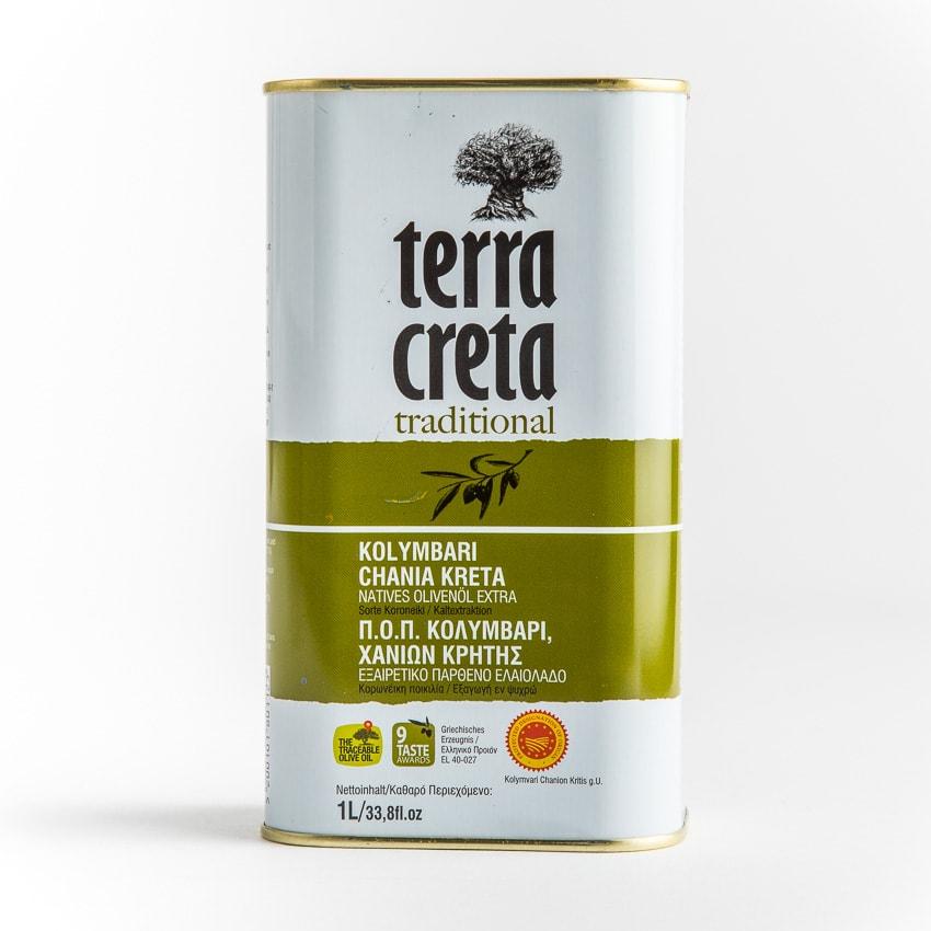 Terra Creta klassik Olivenöl Extra Nativ 1l Kanister online bestellen