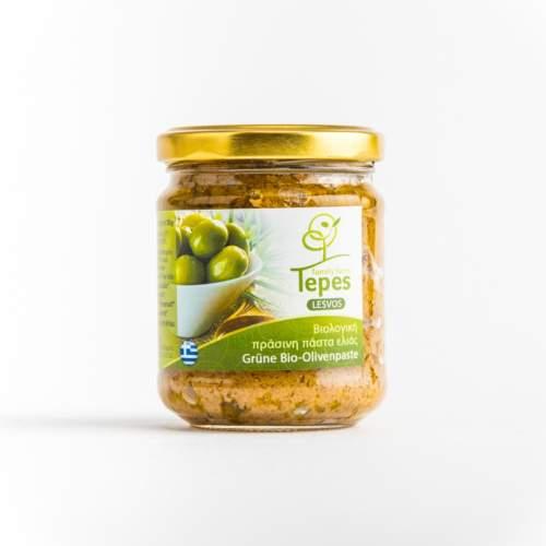 Tepes Farm Bio Olivenpaste grün online kaufen